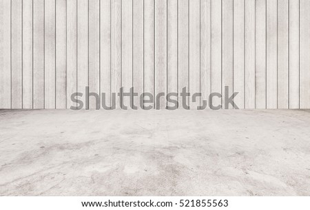 White marble stone floor with white wood wall texture. texture background. can be used for display or montage your products