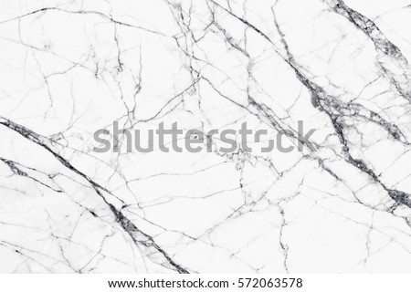 White marble texture and background for design pattern artwork. #572063578