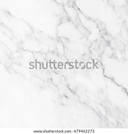 White marble texture and background for design pattern artwork. #679462273