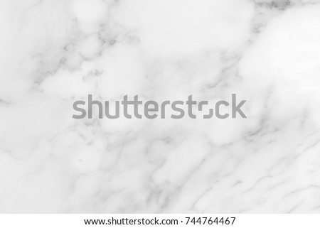 White marble texture and background for design pattern artwork. #744764467