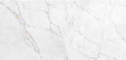 White Marble Texture Background, High Resolution Italian Slab Marble Stone For Interior Abstract Home Decoration Used Ceramic Wall Tiles And Granite Tiles Surface.