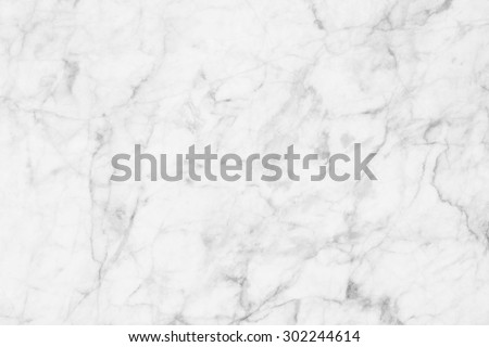 White marble texture in natural patterned  for background and design. #302244614