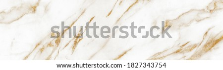 White marble with golden veins. White golden natural texture of marble. abstract white, gold and yellow marbel. hi gloss texture of marbl stone for digital wall tiles design.