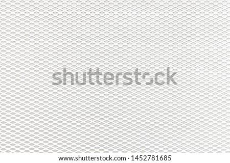 Photo of  White mesh on a white background
