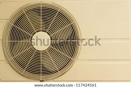 White metal air compressor