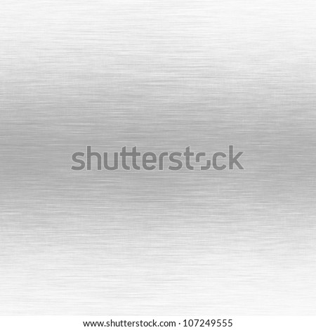 white metal background with horizontal scratches texture