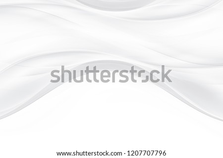 White modern bright waves art. Blurred pattern effect background. Abstract creative graphic illustration. Decorative business concept.