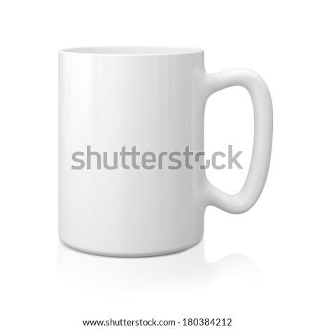 White Mug #180384212