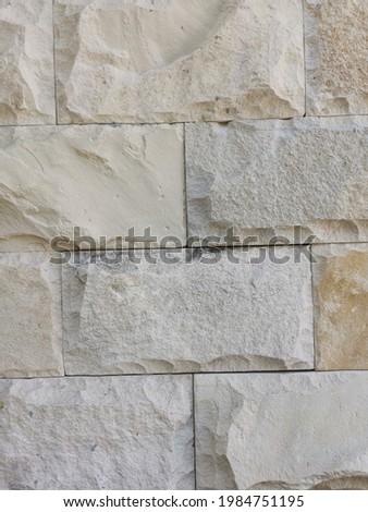 White natural bobos or paras stone as background.  Foto stock ©