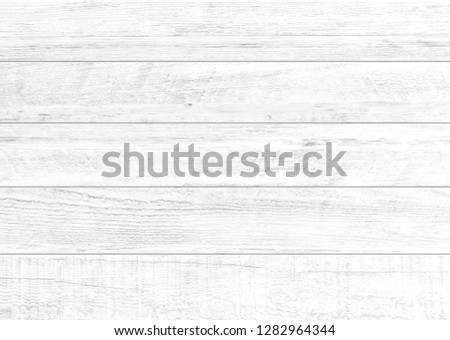 White natural wood wall background. Wood pattern and texture for background. #1282964344