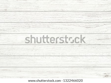 White natural wood wall background. Wood pattern and texture for background. #1322466020