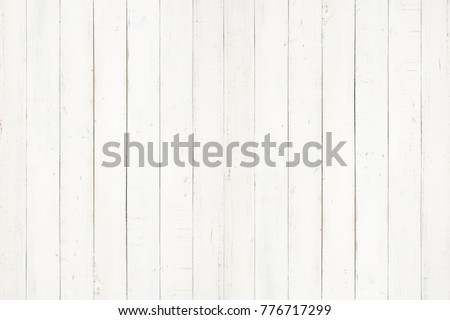 white natural wood wall texture and background,Empty surface white wooden for design,Top view white table and copy space Stock photo ©