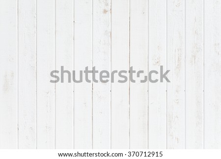 White natural wood wall texture and background seamless #370712915