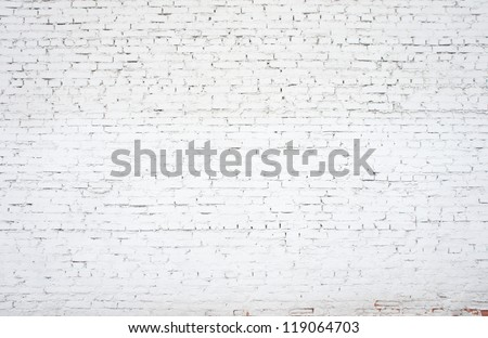 white old brickwork closeup, backgrounds
