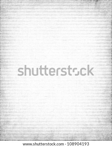 white old canvas texture with delicate oblique stripes as grunge background
