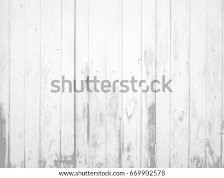 White Old Weathered Worn Out Texture Painted Wooden Door Fade Light Tone Background Space 669902578
