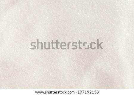 White Organic Cane Sugar against a background