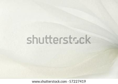 white organza fabric texture background