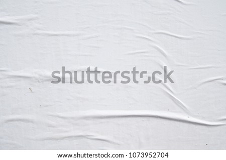 white original authentic street poster texture background