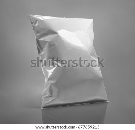 white package template #677659213