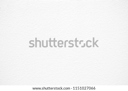 White Paint Concrete Wall Texture Background, Suitable for Presentation and Web Templates with Space for Text. #1151027066