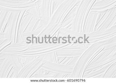 White paint texture with a pattern of grass and leaves. Background for wallpaper and cards. Wedding look. #601690796