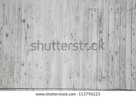 White painted textured wood background