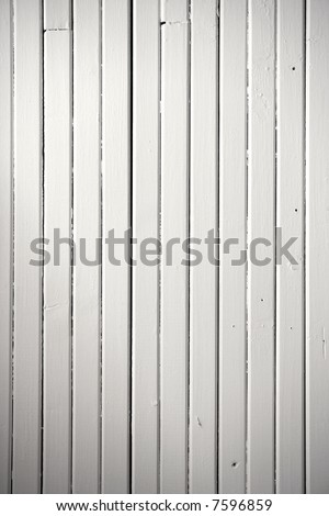 White painted wood background texture. Picture of a deck ceiling.
