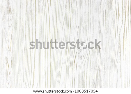 white painted wood board background. striped wooden natural pattern. #1008517054