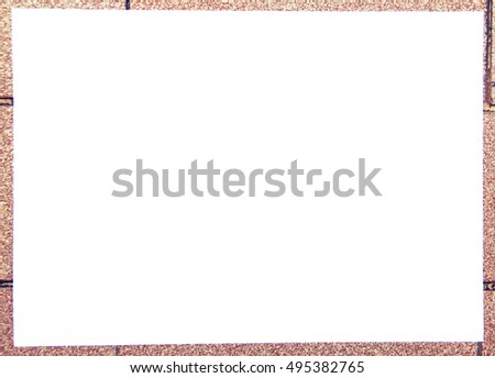 White Paper Board Backgrounds and Textures #495382765