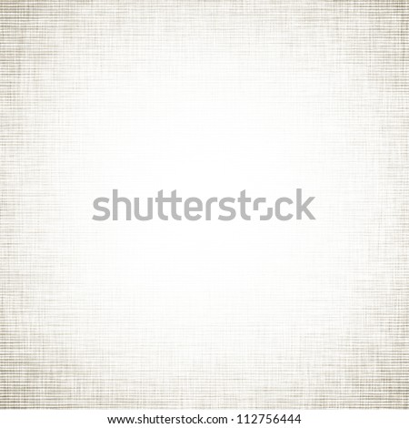 white paper texture background with linen pattern - stock photo