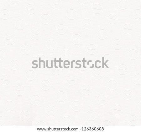 White paper texture background with pattern