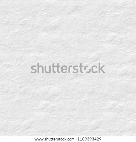 White Paper Texture With Slight Reliefs Seamless Square Background Tile Ready High Resolution