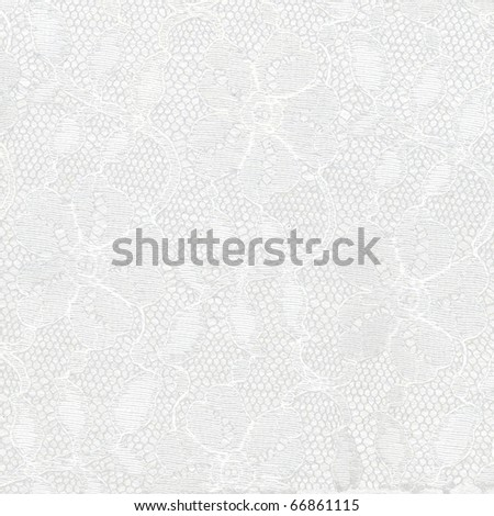White paper with lace