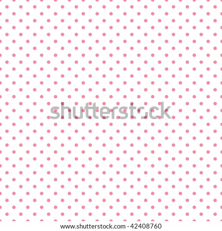 White paper with pink Polka Dots