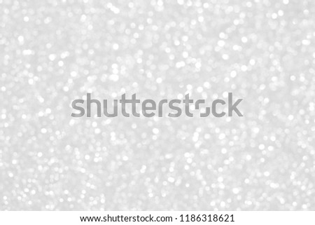 White Particles Abstract Background