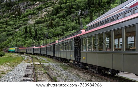 white pass and yukon railway  ...