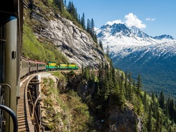 White Pass Train  Alaska