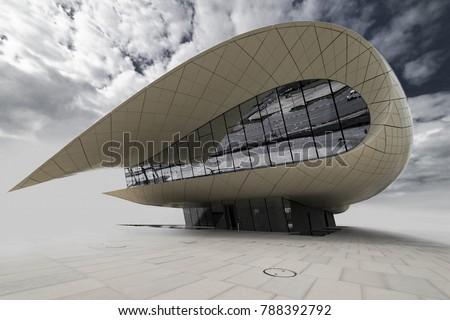 White Pavilion - Museum, Dubai, Jan. 2018