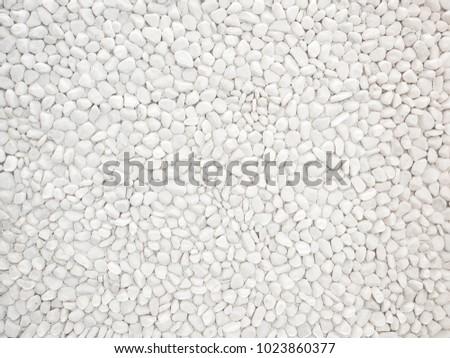 White Pebble stone Nature texture background