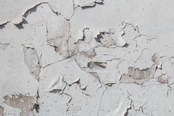 White Peeling Paint Texture