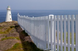 White Picket Fence to White Lighthouse Tower