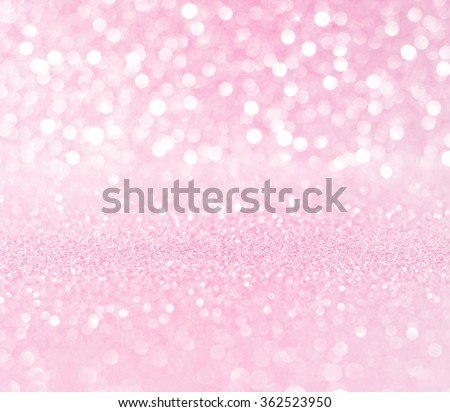 white pink glitter bokeh texture christmas abstract background