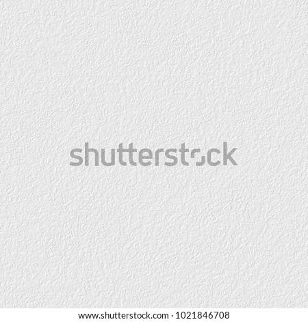 White plaster texture, seamless square texture