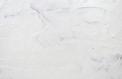 White plaster walls are ideal for background applications.