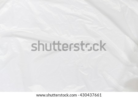 White Plastic Bag Texture ,blurry #430437661