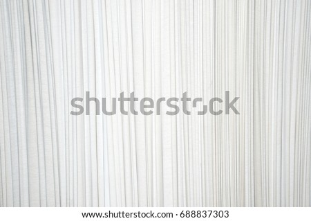 White pleated fabric in the crease pattern for backgrounds and textures.  ストックフォト ©