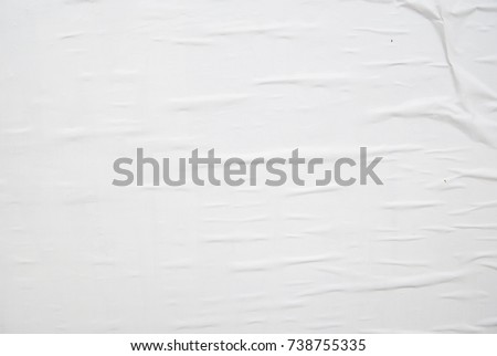 white poster texture background  #738755335