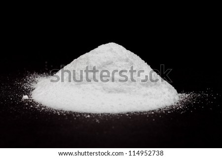 White powder - cocaine