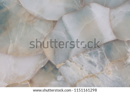 White quartz natural stone organic mosaic in high resolution, gemstone surface background close up